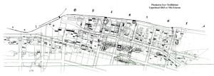 Plankarta 1863 av Nils Ericson
