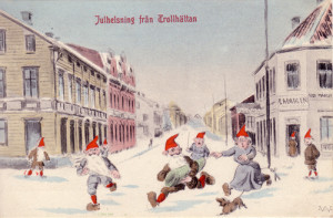 Julhälsning från Trollhättan