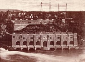 Olidans kraftstation 1913